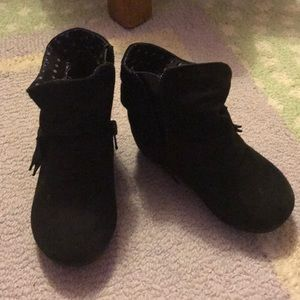 Other - Black suede boots